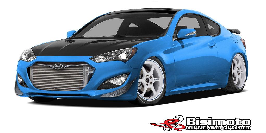 Hyundai Bisimoto Genesis Coupe