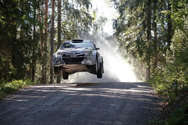 Hyundai i20 WRC testing©Hyundai Motorsport