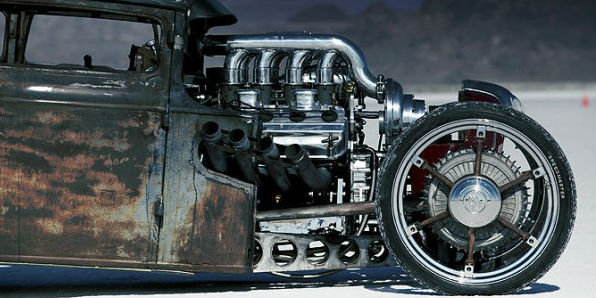 1930 Ford Coupe Rat Rod