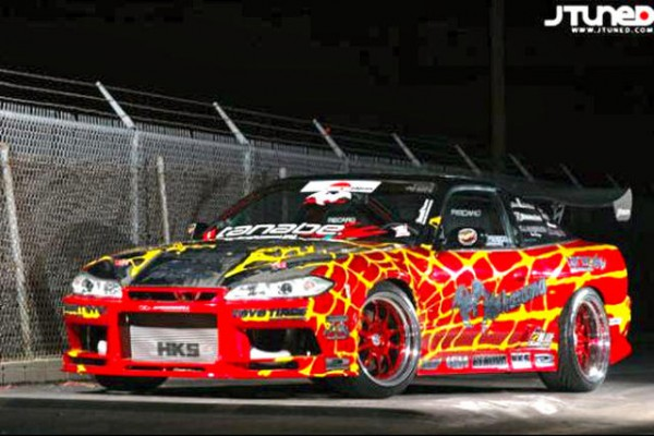 Nissan 240sx drift car (1)