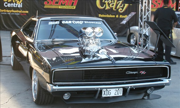1968 Dodge Charger at SEMA 2011 3