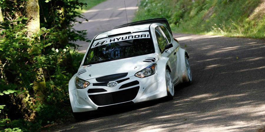Hyundai i20 Rally WRC