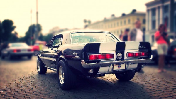1968 Ford Mustang GT/CS California