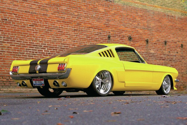 1965 Ford Mustang Fastback yellow
