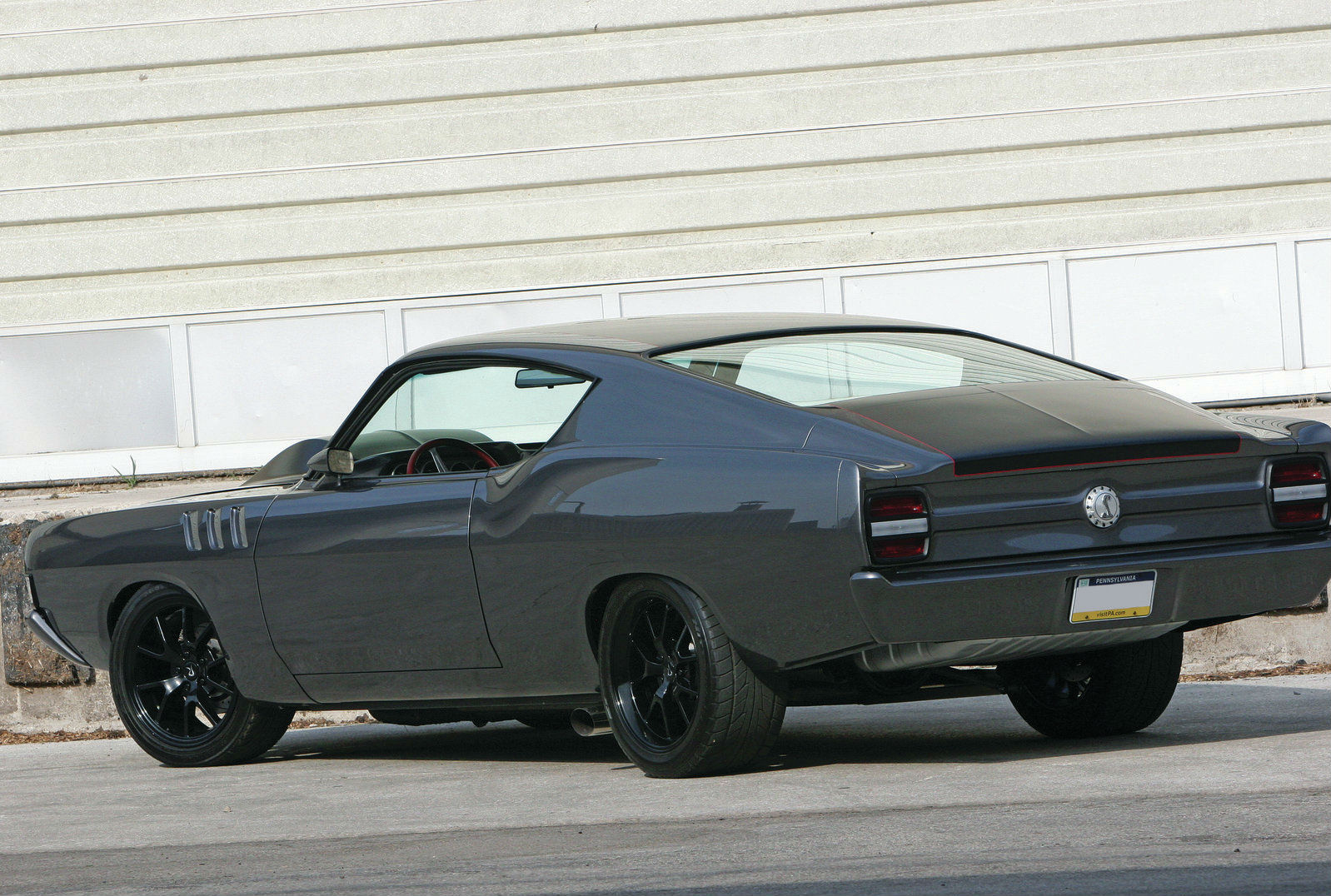George Poteet'-s 1969 Ford Torino, built by Rad Rides by Troy, took ...