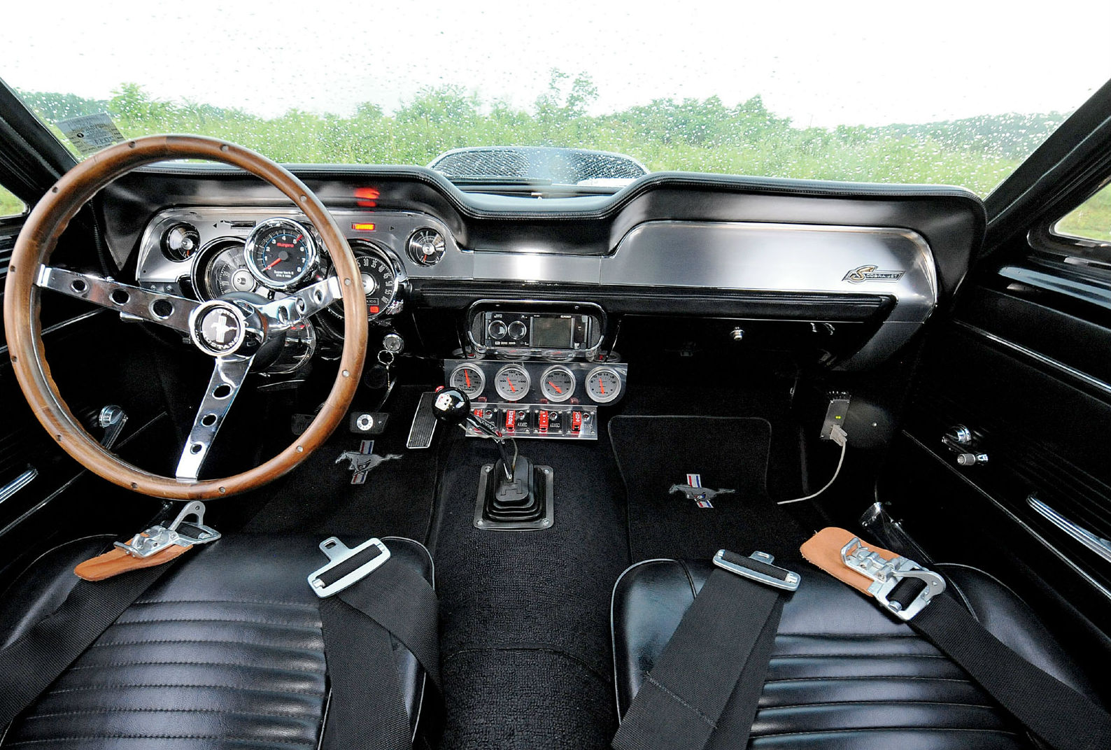 1967 ford mustang fastback interior muscle cars zone. Black Bedroom Furniture Sets. Home Design Ideas