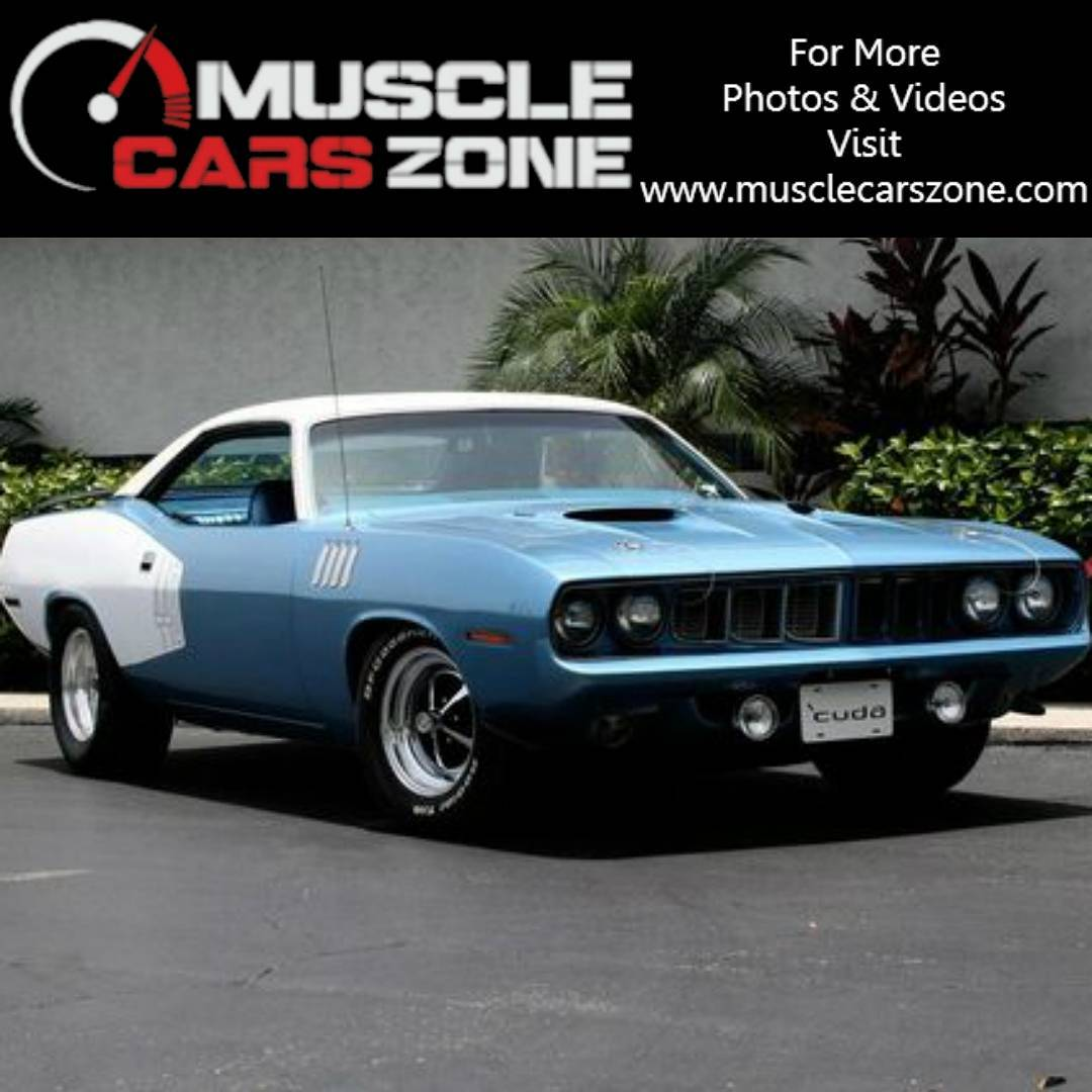 What Do You Think Of This 1971 Hemi Cudas Colorhellip