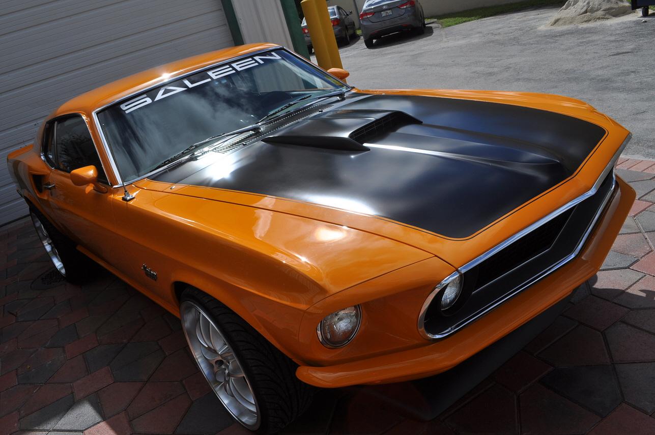 One Off 1969 Custom Mustang Built Over 2005 Saleen S281