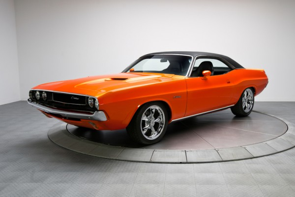 1970 Dodge Challenger Pearl Orange 340 V8