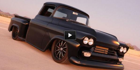 custom 1958 chevy truck
