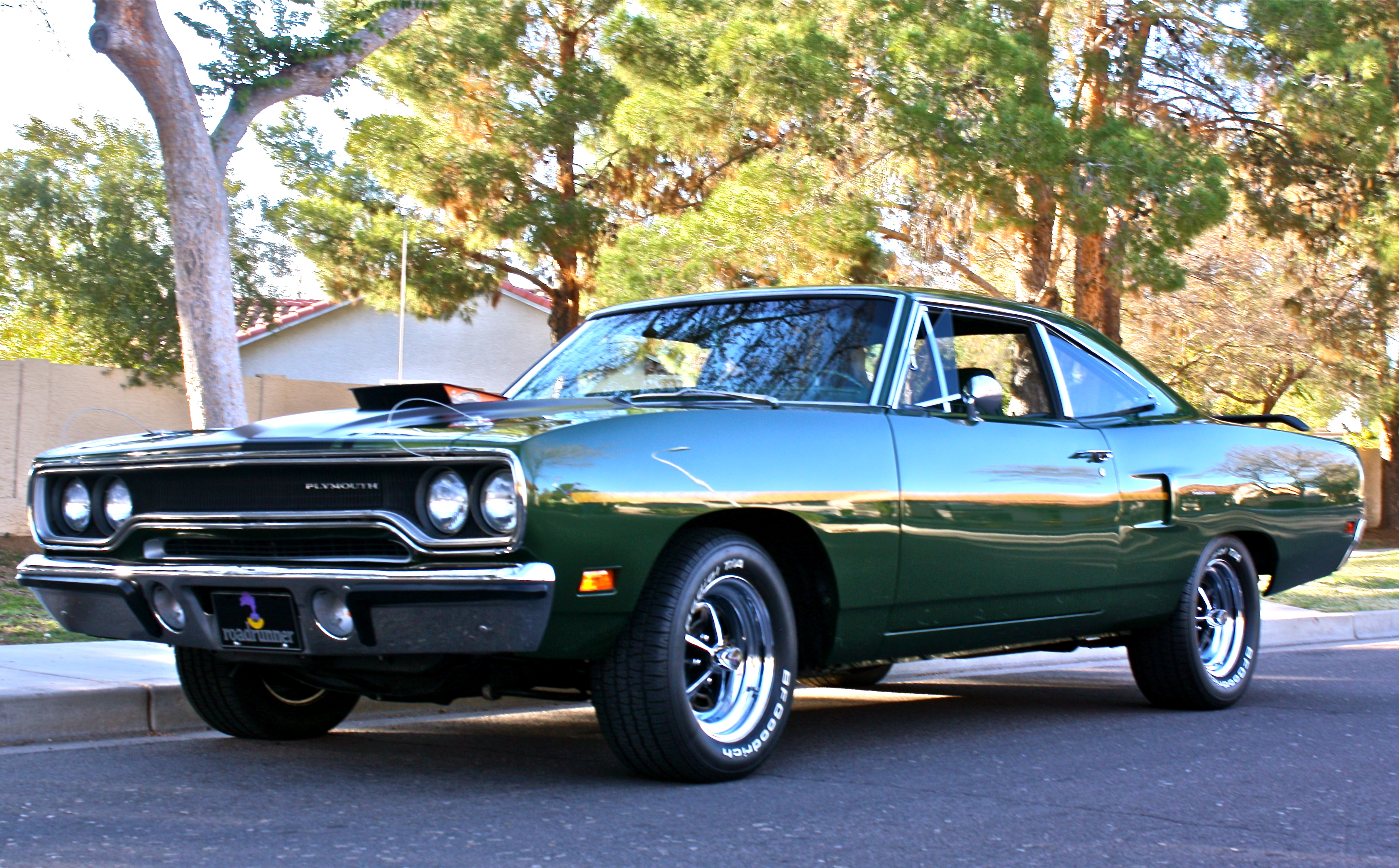 Stunning 1970 Green Plymouth Roadrunner This Beauty Is