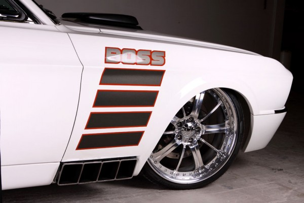Check The 1968 Mustang Fastback Boss - by Kindig It Design!