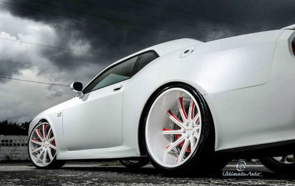 Matte White Dodge Challenger Widebody Muscle Cars Zone