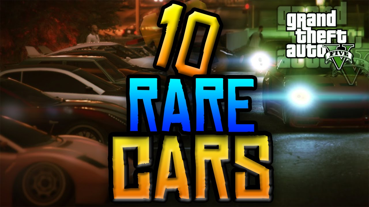 GTA V: Secret and Rare Car Locations! - Muscle Cars Zone!