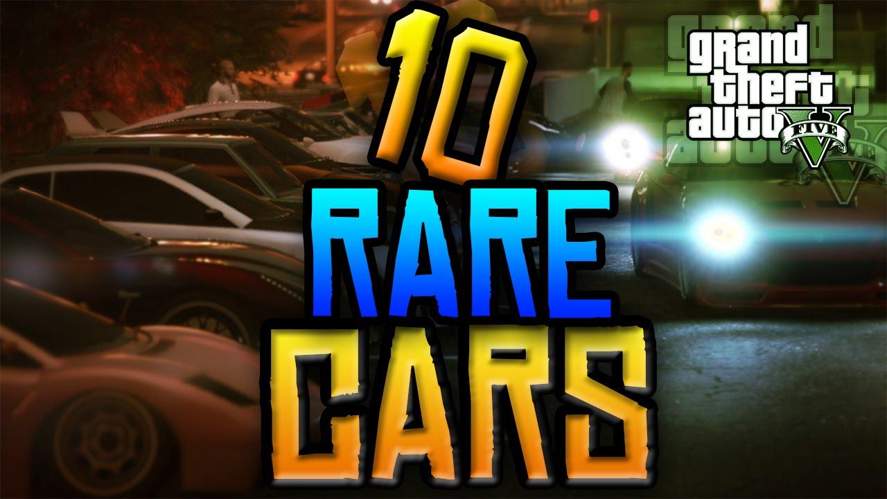 GTA V: Secret And Rare Car Locations!