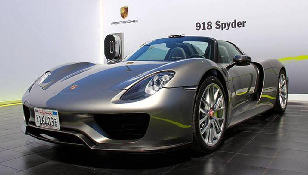 2014 887hp porsche 918 spyder muscle cars zone. Black Bedroom Furniture Sets. Home Design Ideas