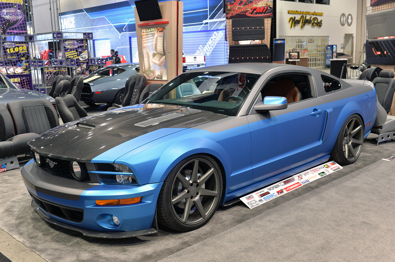Tmi Products 2005 Ford Mustang Sema 2013 Muscle Cars Zone