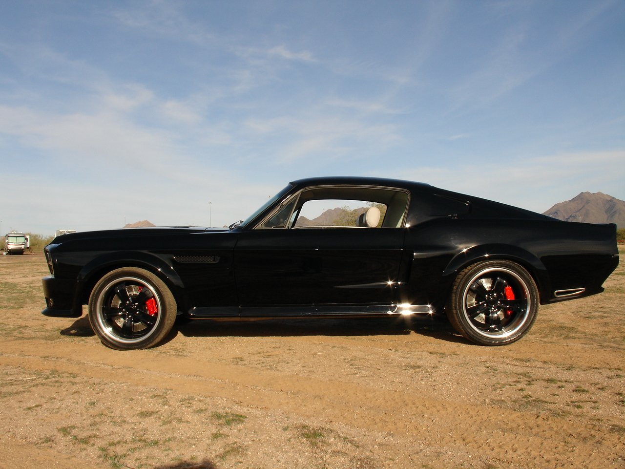 1967 Ford Mustang Fastback Raven Black Muscle Cars Zone