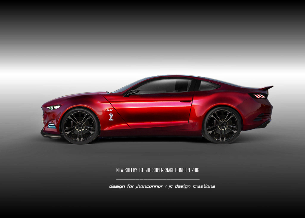 2016 Ford Mustang Shelby Gt500 Supersnake Concept By
