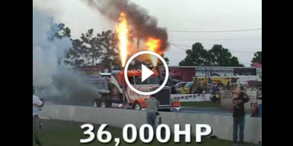 This 36.000HP Vehicle Holds The Guinness World Record Fastest Truck 2