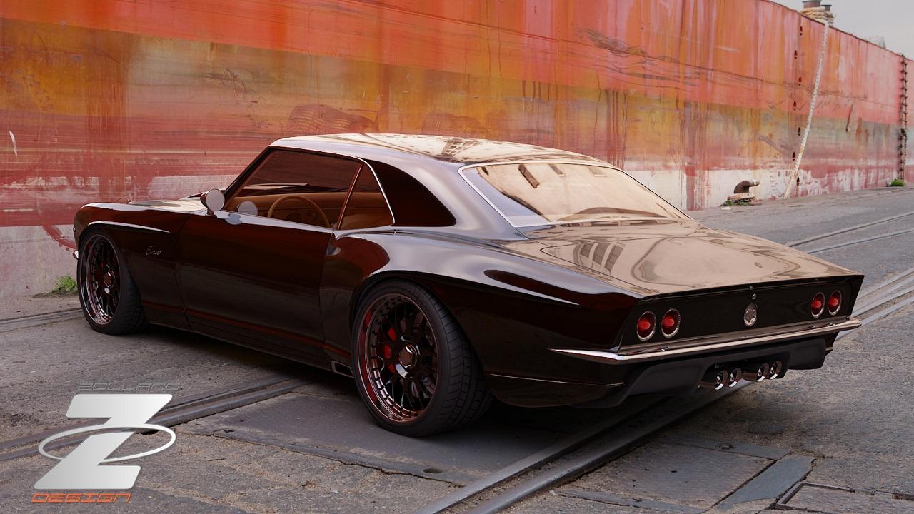 1968 Chevy Camaro By Bo Zolland!