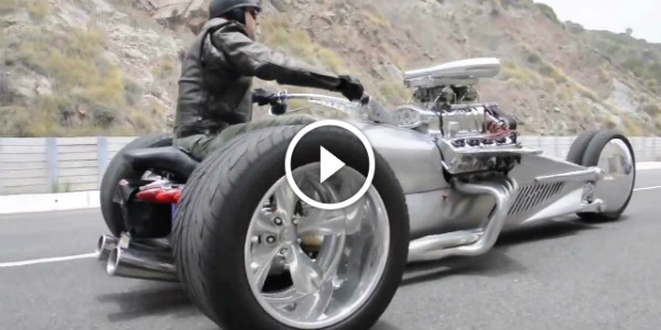 crazieast trike 1200hp