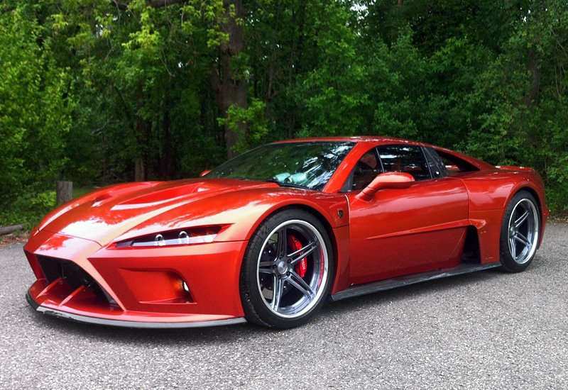 Falcon F7 The Four Wheeled Monster Muscle Cars Zone