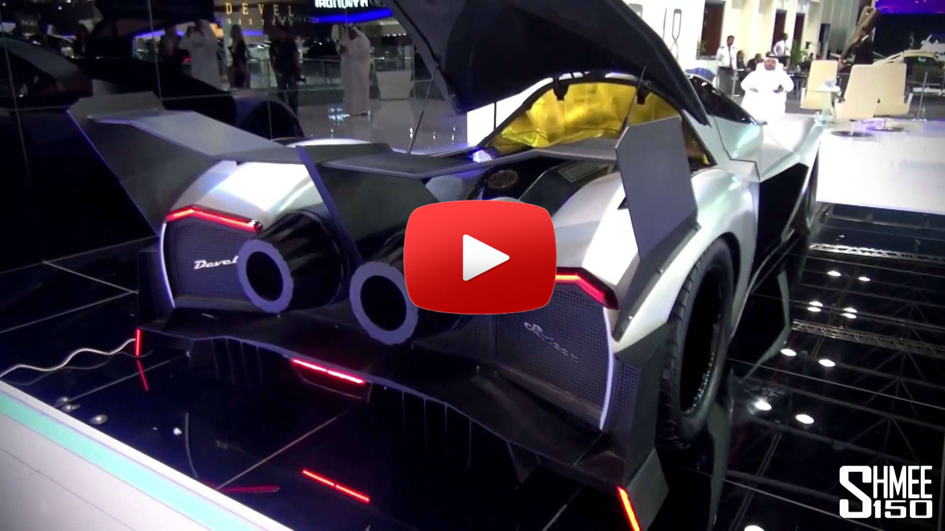 5 000hp Devel Sixteen V16 Crazy Supercar 0 62 Mph In 1 8s