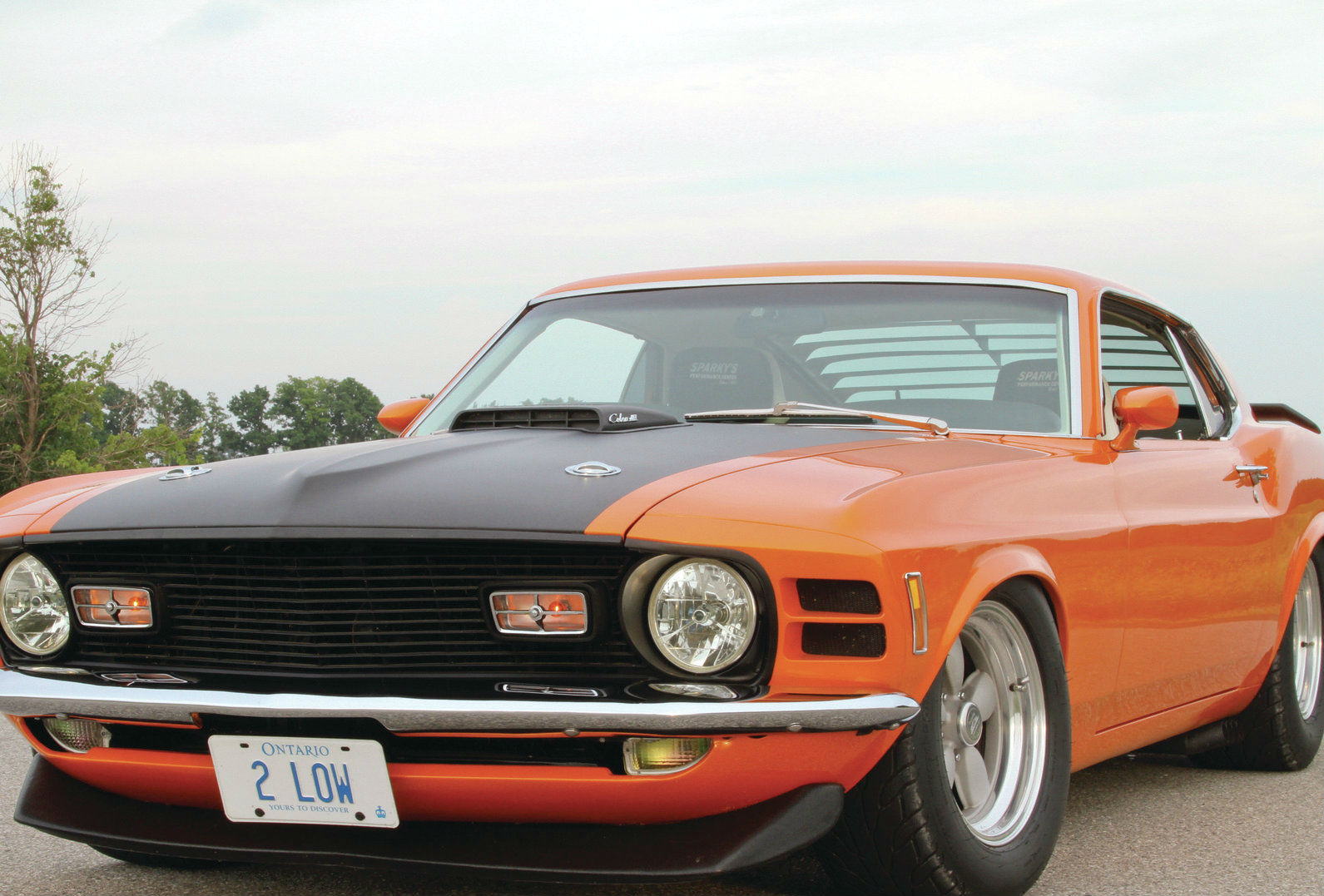 Ford Mustang Mach Front Side View Muscle Cars Zone