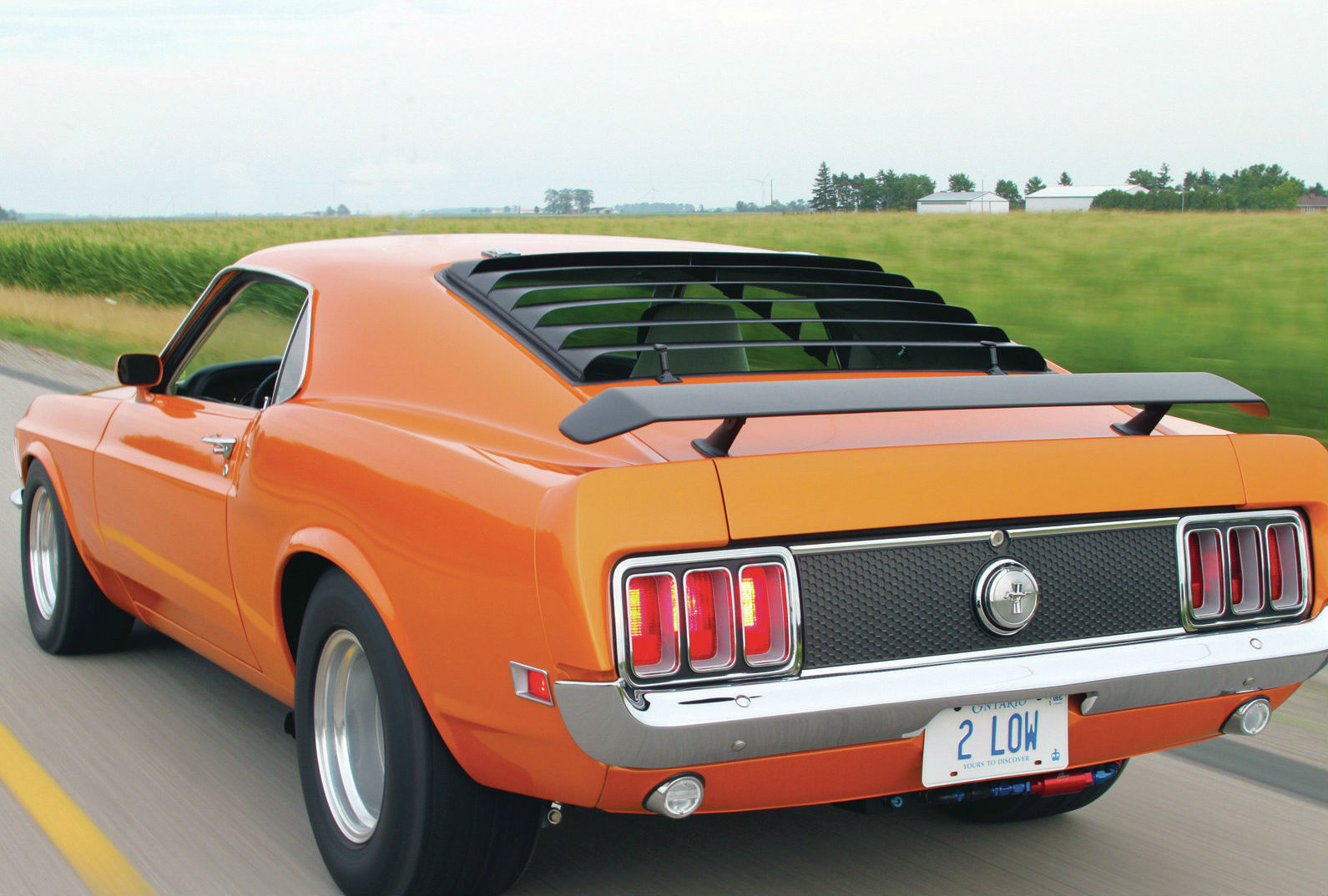 1970 Ford Mustang Mach 1 by Mark Bard  Muscle Cars Zone