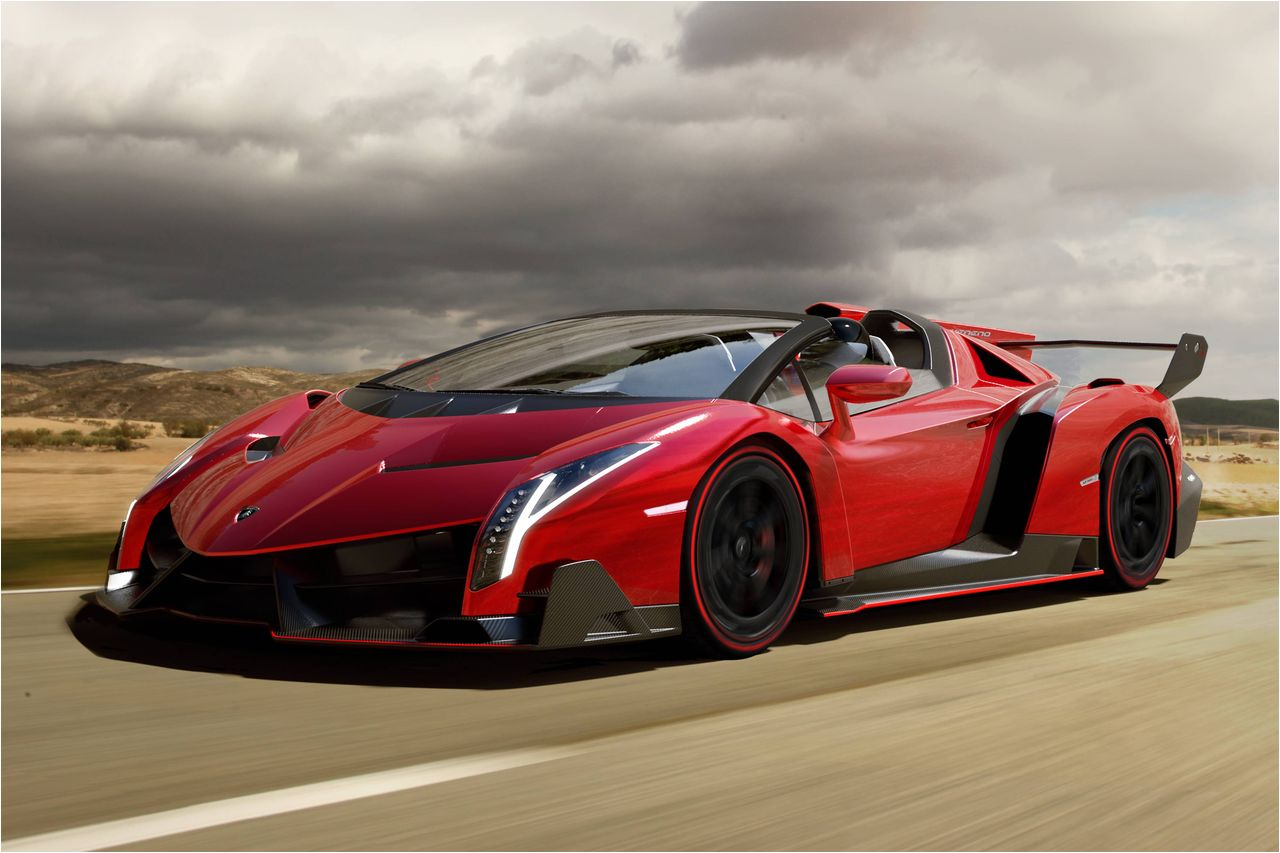 Lamborghini Veneno Roadster Muscle Cars Zone