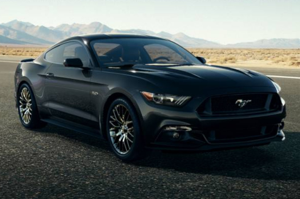 2015 Mustang Black Muscle Cars Zone