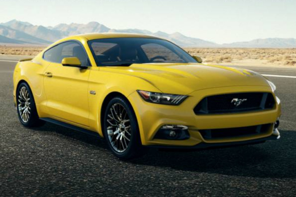 2015 Mustang Triple Yellow Muscle Cars Zone