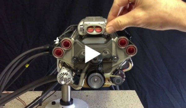 The Smallest V8 Engine With Electronic Fuel Injection