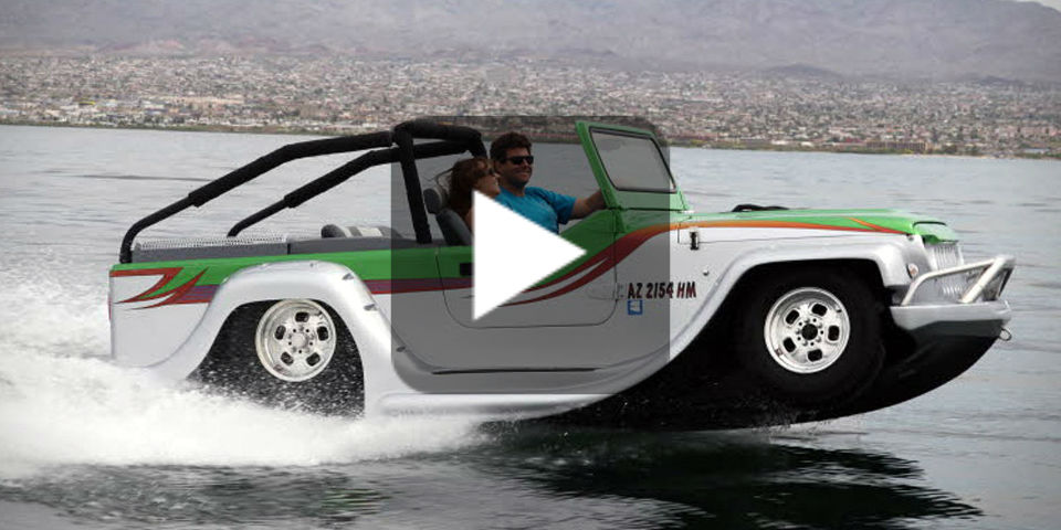 Watercar Panther The Fastest World S Amphibious Car
