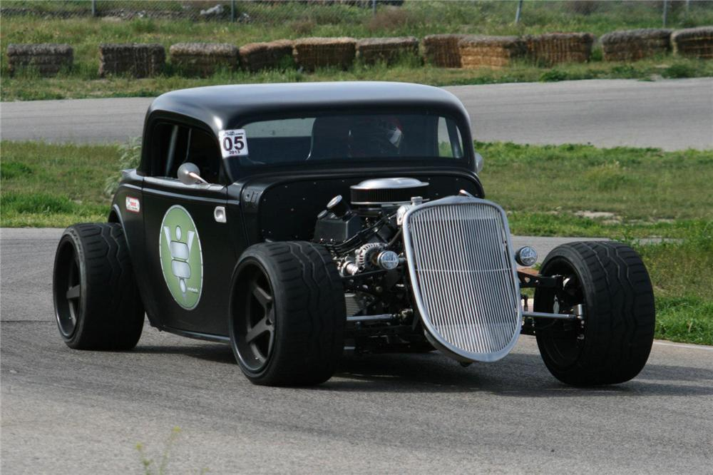 580hp 1933 Ford 3 Window Custom Coupe By Ridetech