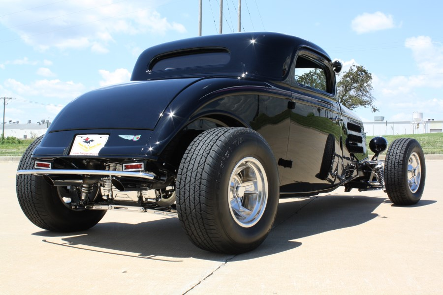 580hp 1933 ford 3 window custom coupe by ridetech for 1933 ford 3 window