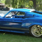 1967 Ford Mustang-BLUE BOSS 2