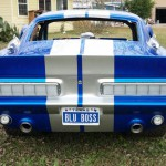 1967 Ford Mustang-BLUE BOSS 3