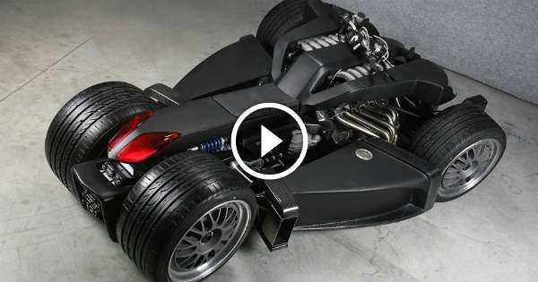 Lazareth Wazuma The World S Coolest Quad Bike With V12