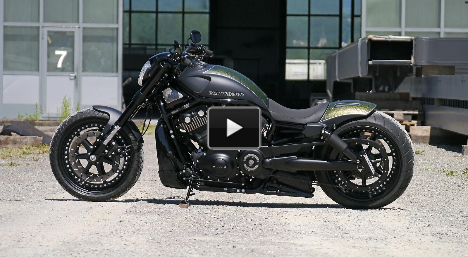 harley davidson v rod custom made by moto91 muscle cars. Black Bedroom Furniture Sets. Home Design Ideas