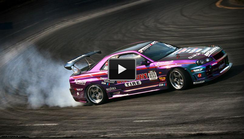 R34 Gtr Nissan Skyline Drift This Car Sounds Like A Beast