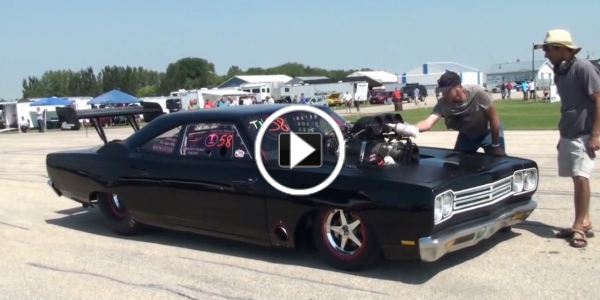 1800HP Blown 69 Road Runner! Start Up Walkaround Test Runs 21 Blown Road Runner