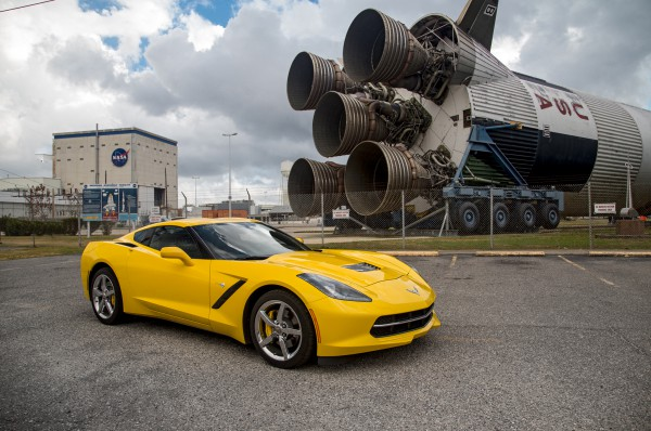 2014-Chevrolet-Corvette-C7-Nasa-Space-Site-front-three-quarter