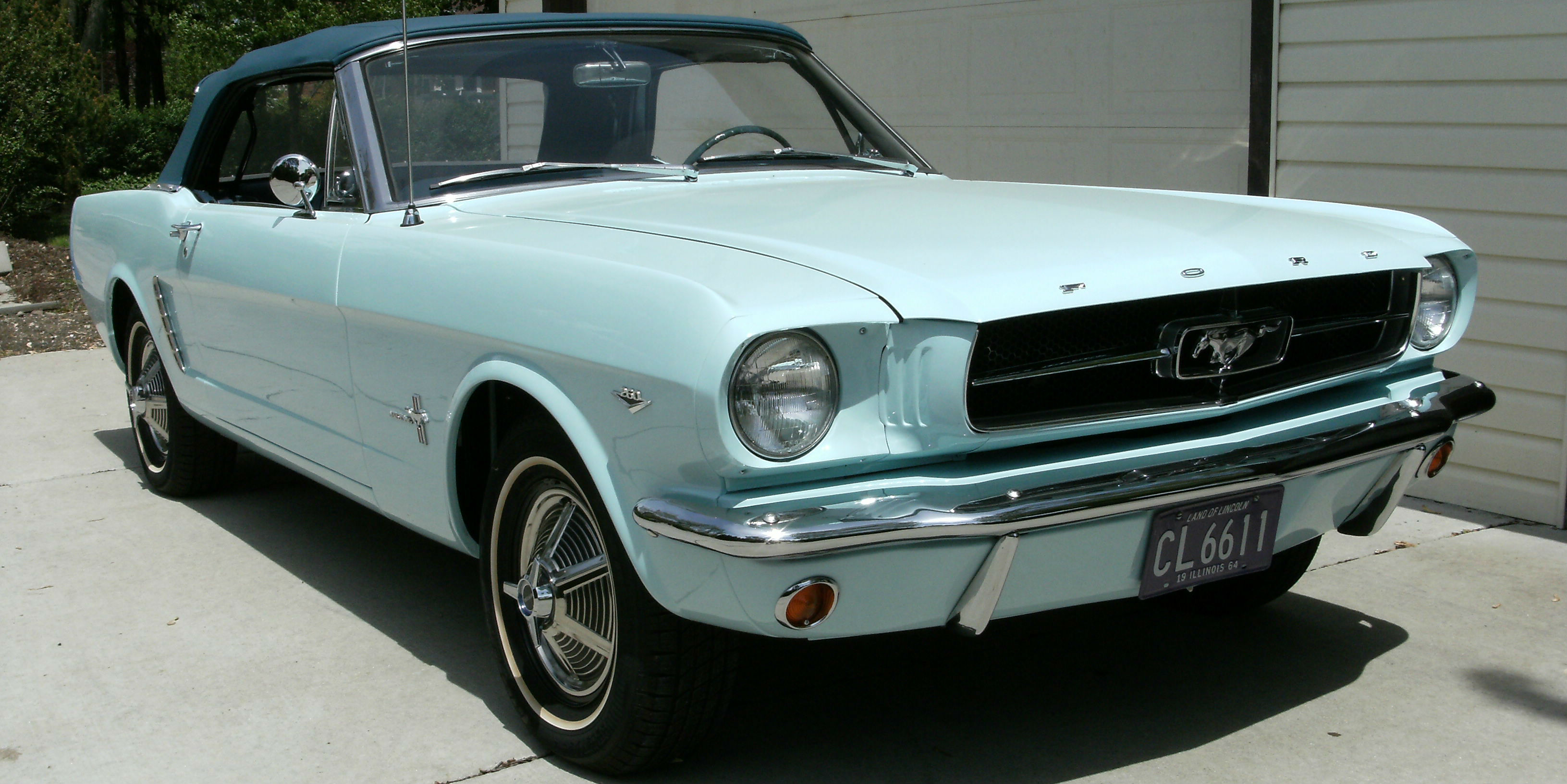 The First Ford Mustang Ever Sold Still Owned By The Same Owner ...