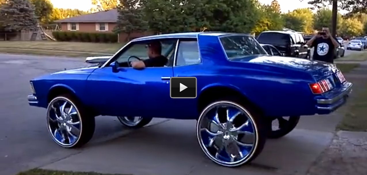 Ss Monte Carlo >> This Chevy Monte Carlo SS Is Doing a WHEELIE & Burning BOGUES!
