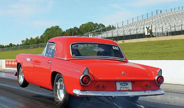 1955 Ford Thunderbird David Craig Is The Owner More Than 50 Years