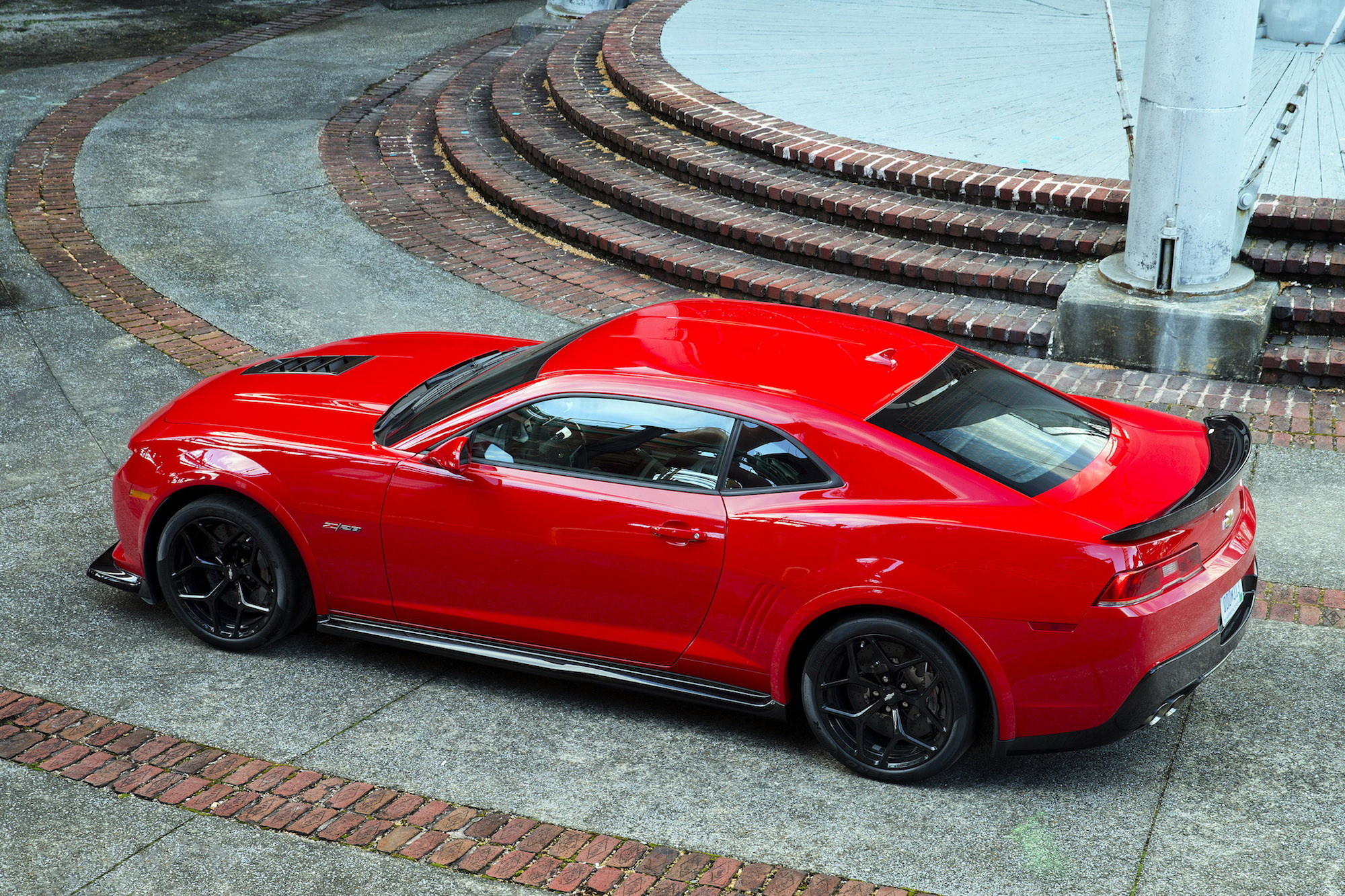 Red Chevrolet Camaro Z Wallpaper Muscle Cars Zone