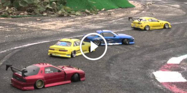 Excellent RC Drifting Battle 1