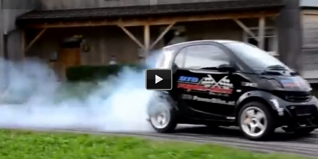 hayabusa turbo engine smart car smoke